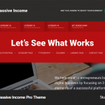 Remove the featured image from the homepage of Smart Passive Income Pro